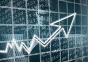 גרף עלייה אחרי בניית תוכנית עסקית טובה